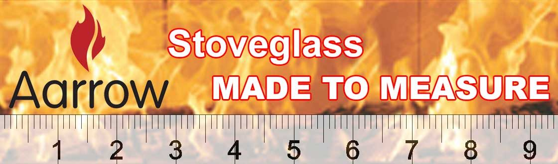 Aarrow stoveglass made to measure