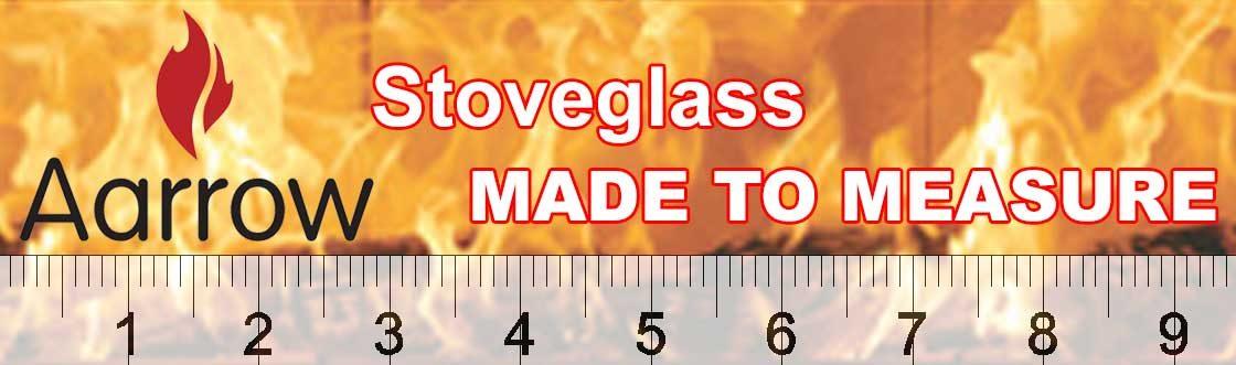 Aarrow stoveglass made to measure