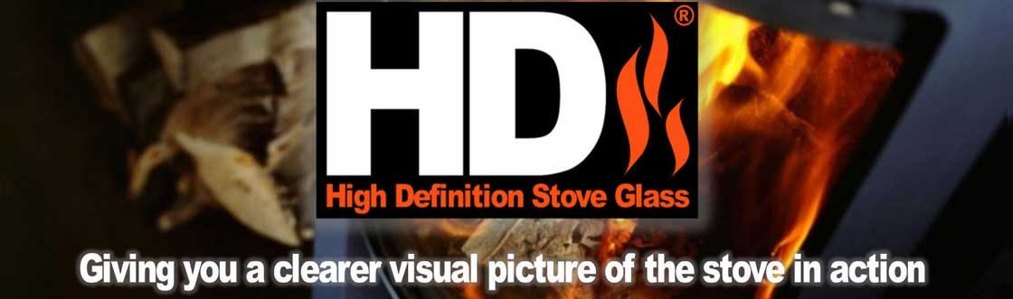High definition stove glass